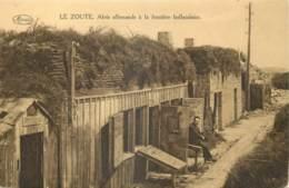 Belgique - Knokke - Le Zoute : Abris Allemands à La Frontière Hollandaise - Knokke