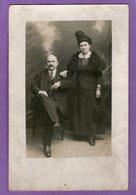 Carte-Photo  - Couple - PHOTO .......LAVAL - 1920 - - Photographie