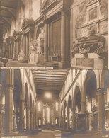 (C).Firenze.S. Croce.Interno.Lotto 2 Cartoline NPG (c20) - Firenze