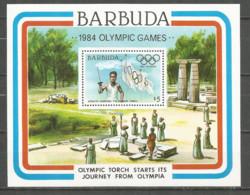 Barbuda 1984 Year , Mint Block (MNH**) Olympic Games - Antigua Et Barbuda (1981-...)