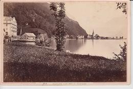 OLD PHOTO - SWITZERLAND - SCHWEIZ - FLUELEN   - 16,5 X 10,5 CM - UR Uri
