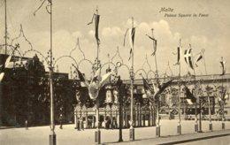 MALTA -  Palace Square In Feast - Malte