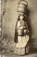 MALTA - RPC - Country Woman - VG Ethnic Costume - 1907 Valetta Postmark - Europe