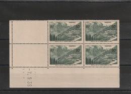 France Coin Daté Du Sans Charniére **  Numéro 358 De 1938 - Ecken (Datum)