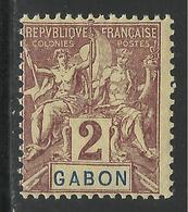 GABON 1904 YT 17** - MNH - SANS CHARNIERE NI TRACE - Gabon (1886-1936)