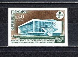 FRANCE  N° 1554a  NON DENTELE NEUF SANS CHARNIERE  COTE 23.00€   ENSEIGNEMENT DES LANGUES VIVANTES - Francia