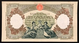5000 Lire Regine Del Mare Medusa 13 08 1956 Pressata Bb+ LOTTO 3107 - [ 2] 1946-… : Républic