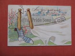 As Is Creases-- Swifts Pride Soap  Ref 3840 - Publicité