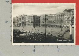 CARTOLINA VG ITALIA - TRIESTE - Piazza Unità - 9 X 14 - 1951 - Trieste
