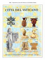Vaticano. 1983. Mi 820 / 25 Block 5. Vatican Collection: The Papacy And Art - US Exhibition - Vaticano (Ciudad Del)