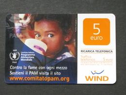 ITALIA WIND - PROGRAMMA ALIMENTARE MONDIALE  SCAD. 31/12/2012 - USATA - Italia