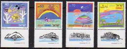 Israel 1060/1063 ** MNH. 1989 - Israel