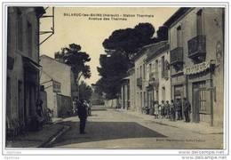 34 Balaruc Les Bains -  Avenue Des Thermes (belle Animation) - Frankrijk