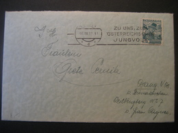 Österreich 1937- Bedarfsbeleg Von Wien Nach Wang Bei Steinakirchen - Cartas