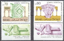 Israel 1071/1072 ** MNH. 1989 - Israel