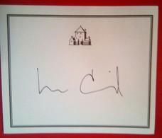 Lee Child  (author) - Autogramme & Autographen