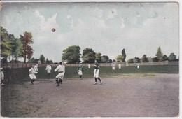 FOOTBALL Cp écrite à Villeneuve D'Anjou En 1906 ,tampon Courtalain - Fútbol
