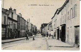 Loire ROANNE Rue De Clermont - Roanne