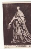 CPA Histoire - Le Cardinal Richelieu Au Musée Du Louvre -  Achat Immédiat - (cd022 ) - Geschiedenis