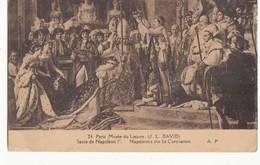 CPA Histoire - Sacre De Napoléon 1er Au Musée Du Louvre -  Achat Immédiat - (cd022 ) - Geschiedenis