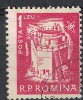 Roumanie 1960 Oblitéré Used Energies Nuclear Reactor Réacteur Nucléaire SU - 1948-.... Repúblicas