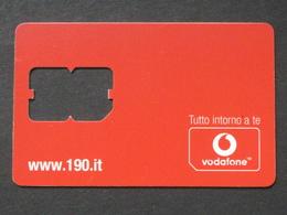 ITALIA VODAFONE SIM 64K - USATA - Italia