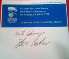 Steve Lederer Author - Autogramme & Autographen