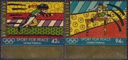 UNO-New York, 2008, 1099/00, MNH **, Sport Für Frieden: Olympische Sommerspiele, Peking. - New York -  VN Hauptquartier