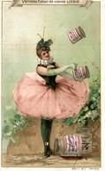 Chromo Liebig S257 S 257 DANSEUSE BALLERINE Jonglage Juggling Dancer Circus Cirque Victorian Trade Card - Liebig