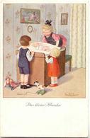 Pauli EBNER - Enfant Avec Poupon - Ebner, Pauli