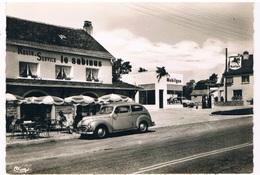 FR-4055  SAINTS-GEOSMES : Terrasse Du Resto-Service Le Dabinus ( Petrol-station, Tankstelle, ) - Langres