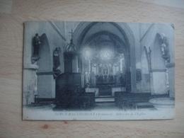Sorcy Bauthemont Interieur Eglise - France