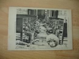 Guerre 14.18 Poilu Dormant Eglise De Marbotte - Guerre 1914-18