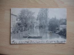 Sainte Menehould  1903  Barque Aisne Moulin Aux Pres - Sainte-Menehould