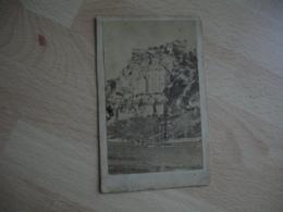 Photo Roc Amadour Rocamadour  Cdv Type Carte De Visite - Luoghi