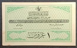 FF - Turkey Banknote Law Of 23 May AH1332 (1916-1917) 1 PIASTRE D N.201,885 - Turkey