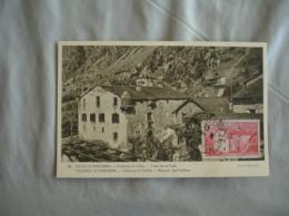 Andorre Andorra Casa De La Vall Maison Des Vallees C M Carte Maximum - Maximum Cards