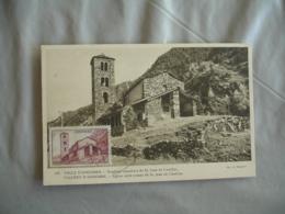 Andorre Andorra Saint Jean Castellas C M Carte Maximum - Maximum Cards