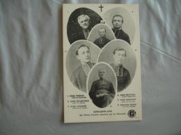 Guerre 14.18 Religion Pretre Cure Assassine Par Allemands - Guerre 1914-18