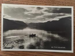 Cpa  Frá Dýrafjörður (n° 83), Fjord,  Kort Skrifað árið 1937, BRIEM útgáfa, REYJAVIK, Islande - Islande