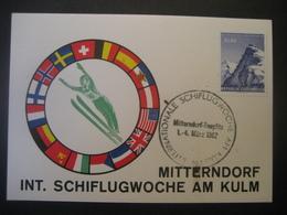 Österreich 1962- Internationale Schiflugwoche Am Kulm In Mitterndorf Tauplitz 1962 - 1961-70 Covers