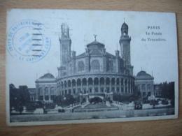 Puteaux  Atelier Construction   Cachet Franchise Postale Militaire  Guerre 14.18 - Marcophilie (Lettres)