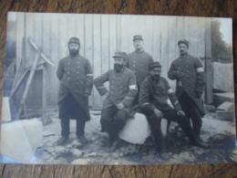 Guerre 14.18 Carte Photo Poilu Medecin Col 11 - Guerre 1914-18
