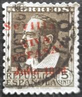 Timbre Local Patriotique De Séville N° 20 - Nationalistische Ausgaben