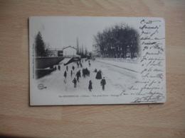 Sainte Menehould  1903  Patinage Sur L Aisne En Hiver - Sainte-Menehould
