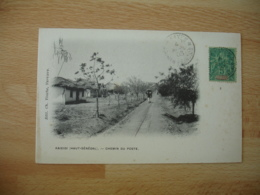 1903  Kaieidi Haut Senegal Chemin Poste Mali Soudan Francais - Mali