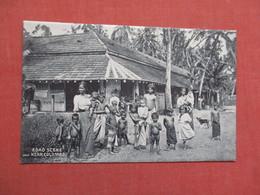 Nude Children Road Scene Near Colombo    Sri Lanka (Ceylon)  Ref 3840 - Sri Lanka (Ceylon)