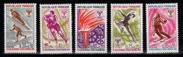 YV 1543 à 1547 N** JO De Grenoble 1968 - Nuevos
