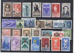 Italia  - Repubblica - Anni Vari - Lotto 28 Francobolli - Usati - Vedi Foto - (FDC19401) - Lotti E Collezioni