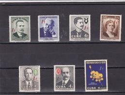 Cuba Nº 511 Al 517 - Nuevos